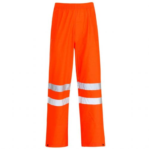 Supertouch Storm-Flex Orange Hi Vis Trousers